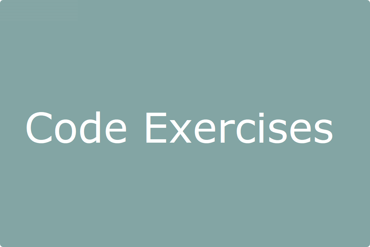 CodeExercises