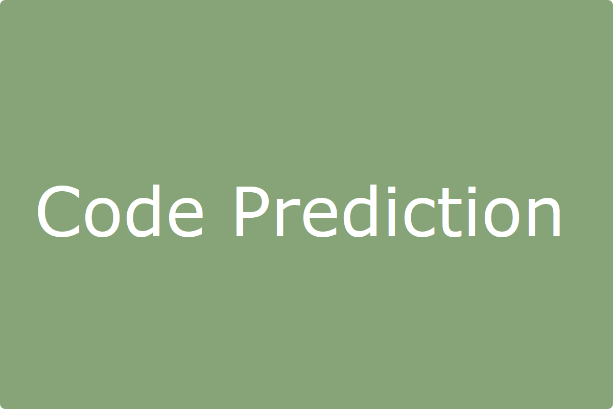 CodePrediction