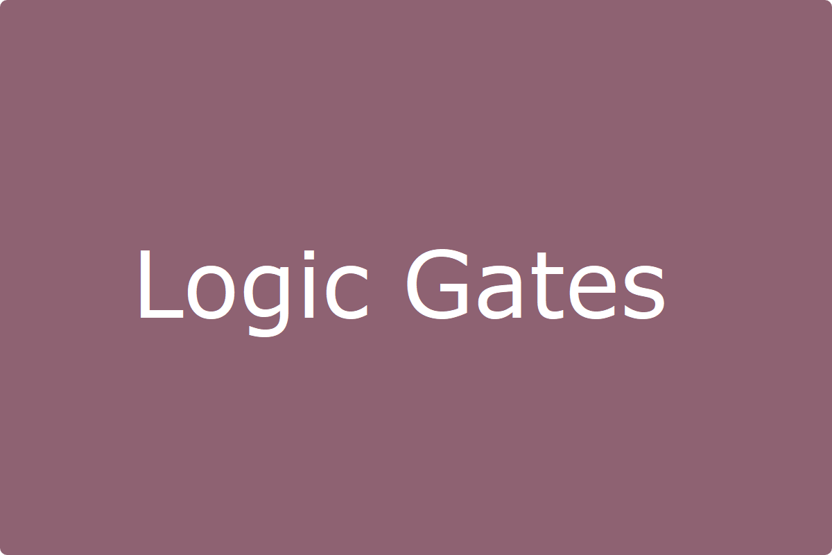 Logic Gates Computer Playlist